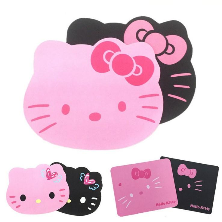 Kitty head style mouse pads U367 Fashion Silicon Stick Laptop Macbook Mouse Protection Silicone Sets with Mouse Pad Style