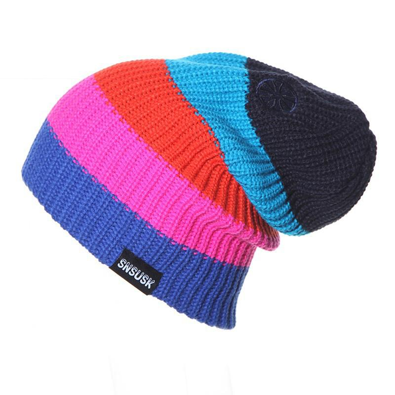 3fb09951e2a 2019 New 2018 Men Women Skiing Warm Winter Hats Female Knitting Skating  Skull Caps For Woman Turtleneck Beanies Hat Snowboard Ski Cap From Booket
