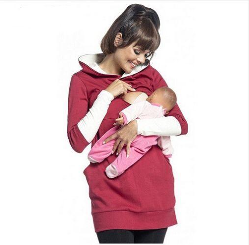 6fd8970103b70 2019 Maternity Pregnant Women Nursing Long Sleeve Breastfeeding Hoodie  Autumn Winter Tops Jumper Top Pullover Casual Sweatshirts From Gengduo, ...