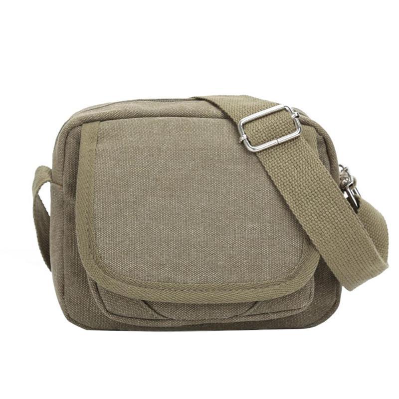 39fe5196535 Vintage Men Waist Bag Shoulder Canvas Sports Male Pouch Belt Purse Bag  Phone Bum Casual Crossbody Messenger Fanny Pocket Designer Handbags On Sale  Purses On ...