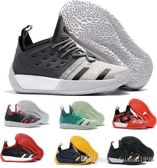 965edb63ca7f New James Harden 2 Basketball Shoes Sneakers Mens White High BHM Vol.2s II  3M Tennis Trainers Spring Sports Hardens Shoe Size 40 46 Women Basketball  Shoes ...