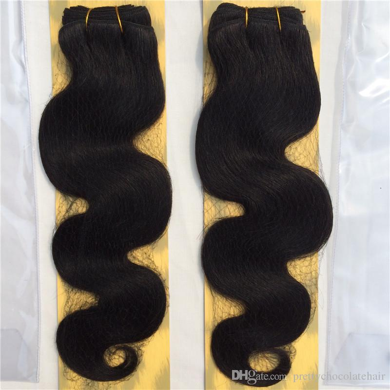 Without Packing Naked Evertress Chocolate Body Wave 100 Malaysian