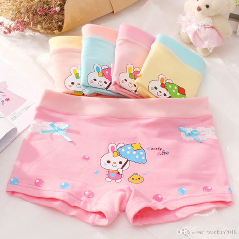 e8a8207f7357 Little Girls Shorts Baby Cartoon Children'S Underwear Panties Suitable For  Girls From 2 To 10 Years Old Children'S Comfortable Underwear