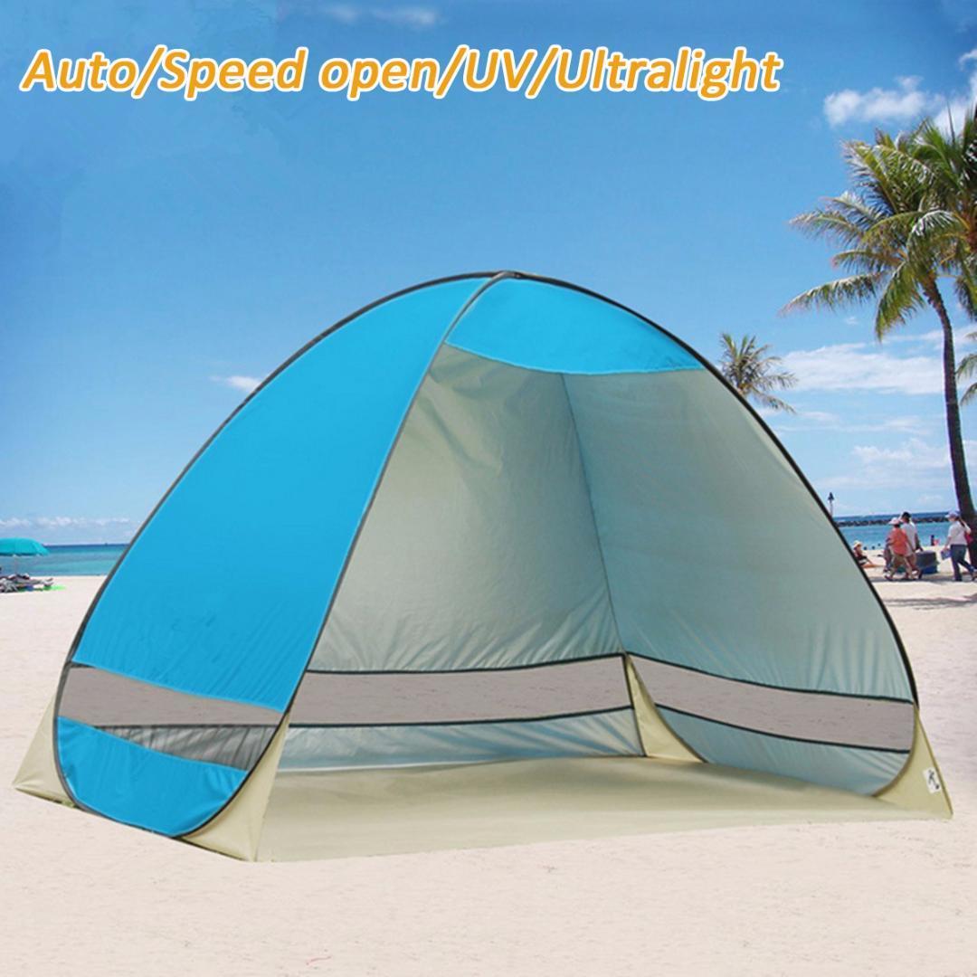 2-3 person Automatische schnell öffnung werfen zelt outdoor zelte werfen wasserdichte camping wandern zelt familie zelte tragbare
