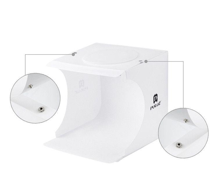 Mini Foto Studio Box Fotografie Hintergrund Eingebaute Licht Foto Box Kleine Artikel Fotografie Box Studio Zubehör
