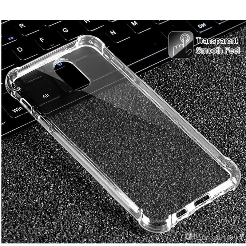 c98567b2eeb Fundas Para El Celular Para Samsung Galaxy J3 2018 Galaxy J7 2018 / Galaxy  A9 Estrella / A8 Estrella / Estuche Claro Gel De Piel Suave TPU Silicona  Cubierta ...