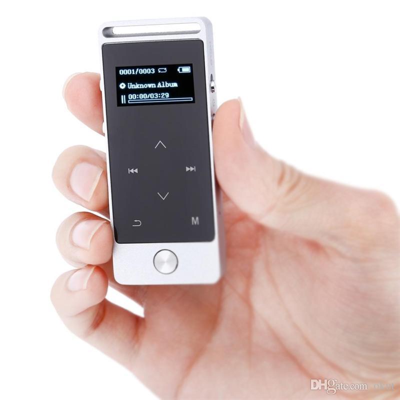 f840d78c9dd7 Compre 2018 Reproductor De MP3 Con Pantalla Táctil Original 4GB 8GB ...