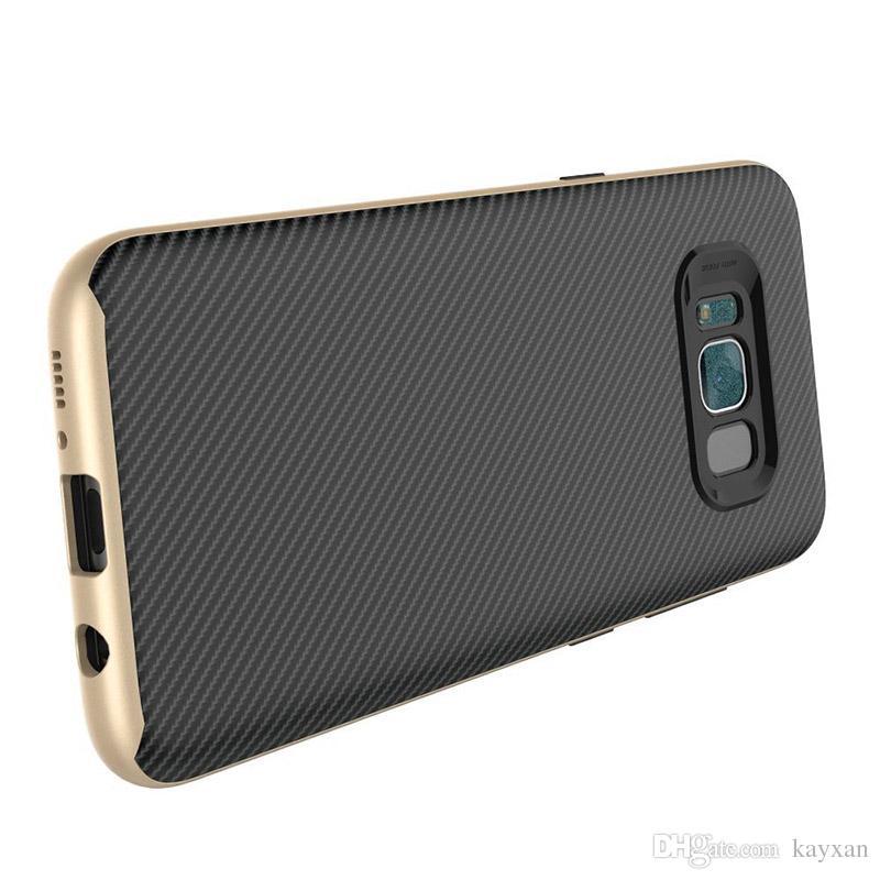 A3 2017 cover Carbon Fiber Hybrid Slim Armor Case For Samsung Z2 J7Prime ON7 J1ACE Soft TPU Skin Cover G530