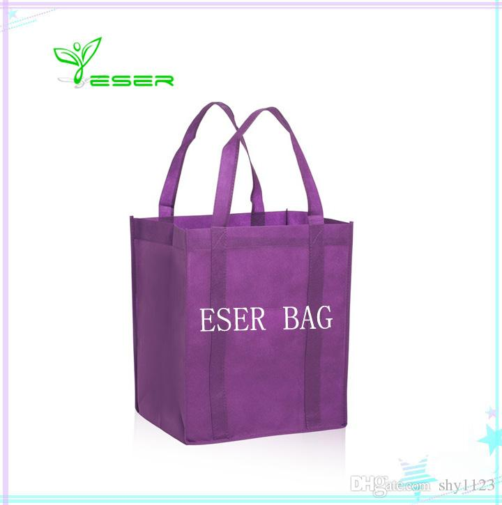 bb236d7443  Ctn 2018 Newest Foldable Shopping Bag Reusable Grocery Bags Durable  Multifunction HandBag Travel Home Storage Bags Wholesale Designer Handbags  White Bags ...