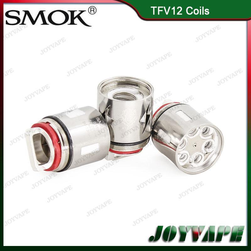 Authentique bobine SMOK TFV12 V12-T14 V12-T12 V12-T8 V12-T6 V12-X4 V12-Q4 Noyau de remplacement pour atomiseur TFV12 grande famille 100% d'origine