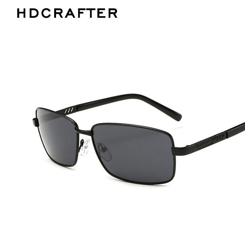 dd6271b0aad HDCRAFTER Metal Frame Brand Designer New Polarized Men s Sunglasses Sun  Glasses Men Driving Sunglasses Sunglases Cheap Designer Sunglasses From  Wonderline2