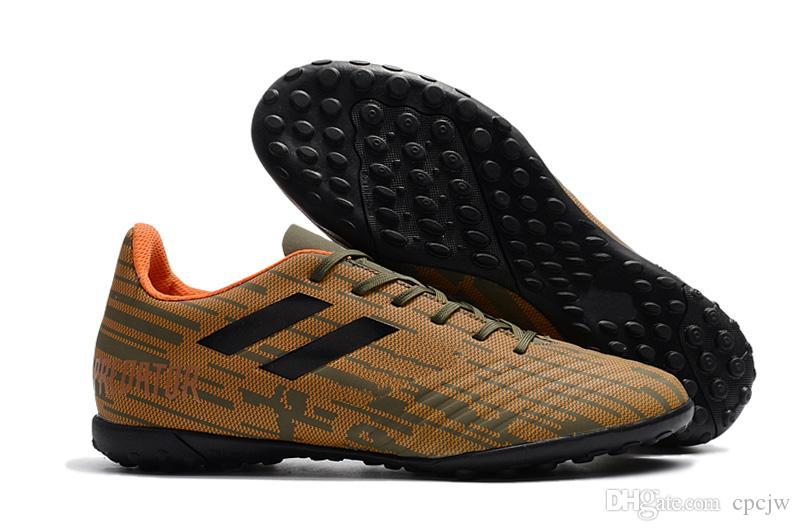 sports shoes c5fb2 b6091 Compre Caliente 2018 Nuevos Llegan Predator Tango 18.4 In Tf Hombres Zapatos  Zapatos Para Correr Masculinos A  37.19 Del Cpcjw   Dhgate.Com
