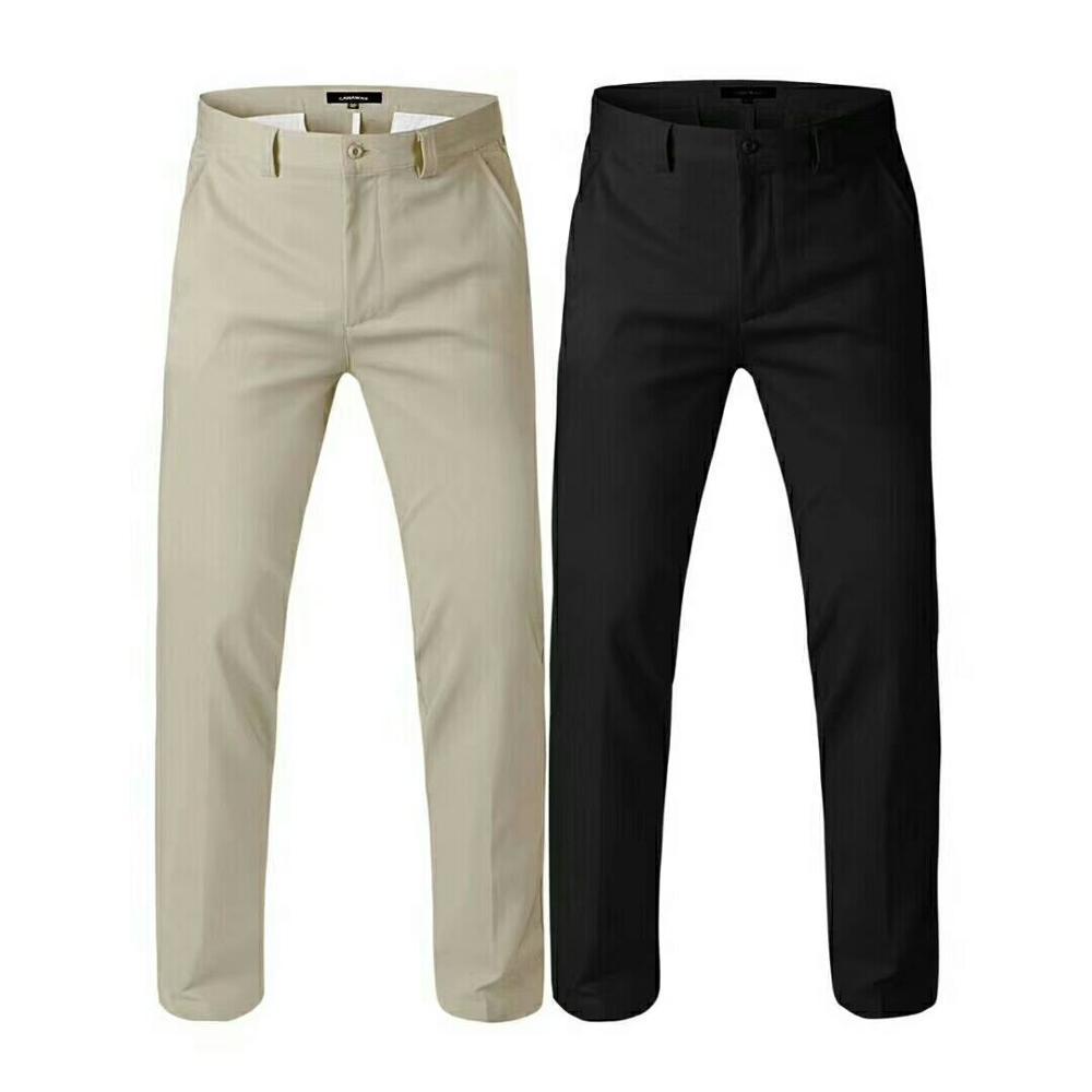 1b961da40 Spring Autumn Men s High Quality Golf Sports Pants Men Cotton Breathable  Comfortable Straight Legged Trousers Golf Sportswear 40 Golf Pants Cheap  Golf Pants ...