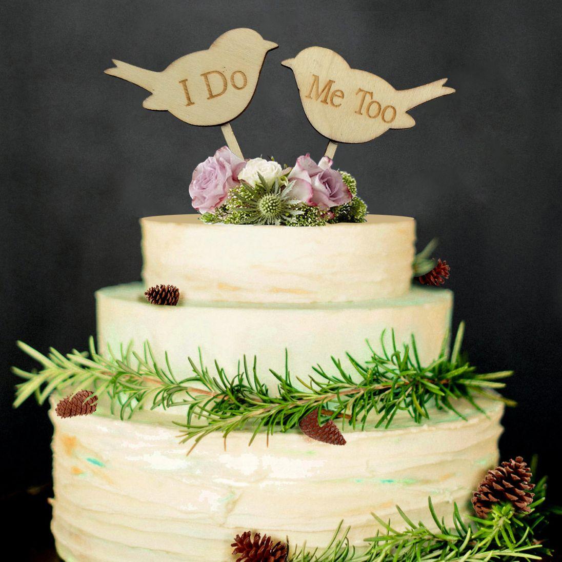 Grosshandel Grosshandel Holz Kuchen Topper Fur Wed Kuchen Dekoration