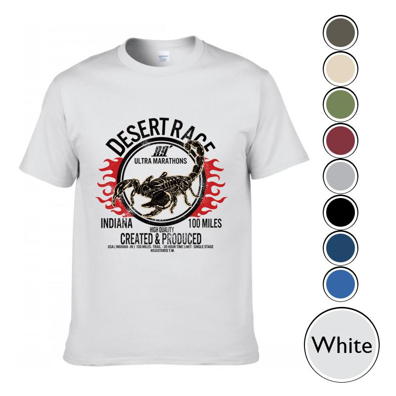The Most Popular T-Shirts, DESERT RACE Printed T-Shirts.