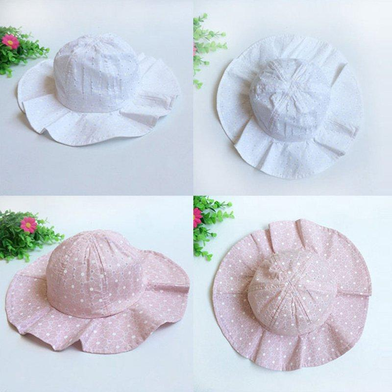 529a8182aa8 New Spring Cap Summer Sweet Princess Baby Girls Hat Lace Up Sun Hat Cotton  Bonnet Enfant Kids Beanie Floral Cap UK 2019 From Benedicty