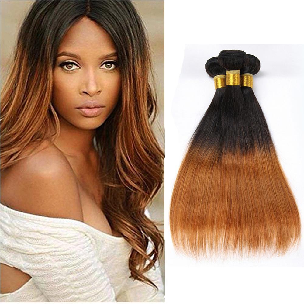 d3f05d9055dec5 8A Pre Colored Ombr Brazilian Straight Virgin Hair ed Bundles Unprocessed Brazilian  Straight Hair Weave Bundles Human Hair Extensions Virgin Remy Hair Weave ...