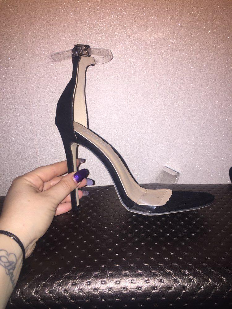 2018 Hot Sale PVC Women Platform Sandals Super High Heels Waterproof Female Transparent Crystal Wedding Shoes Sandalia Feminina