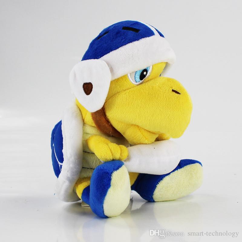 Anime Games Super Mario Koopa Troopa Hammer Bomb Boomerang Koopa Turtle Plush Toy Plush Doll