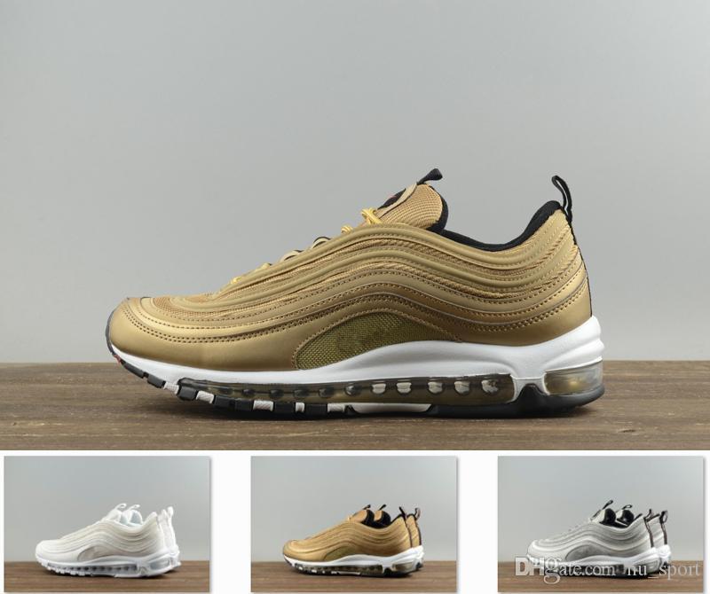 91a314c042f8 2018 Air Running Shoes 97 High Quality Mens Womens Designer Sneaker ...