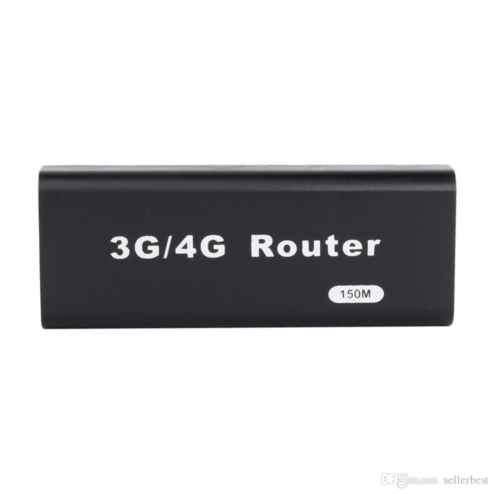 Mini 3G/4G WiFi Router Wireless Usb Wlan 4G Hotspot 150Mbps RJ45 USB WiFi Router For Mac iOS Android Mobile Phone Tablet PC