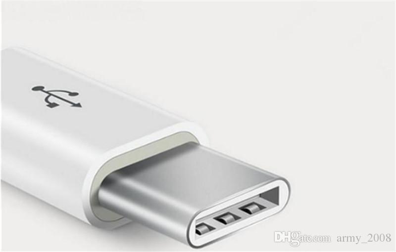 Высокое качество карманный удобный размер автокаталитического покрытия ABS микро USB 3.1 Type-C быстрая синхронизация данных адаптер зарядного устройства 1000 шт.
