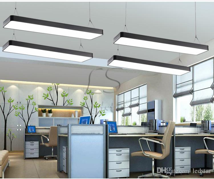 2ft 3ft 4ft الحديثة مكتب بساطتها أدت قلادة ضوء غرفة الطعام أدى قلادة مصباح جولة ركن شنقا ضوء بريق lamparas تركيبات