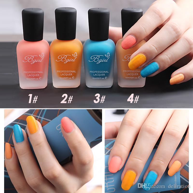 Wholesale 16ml New Fragrance Frosted Matte Bottle Of Nail Polish ...