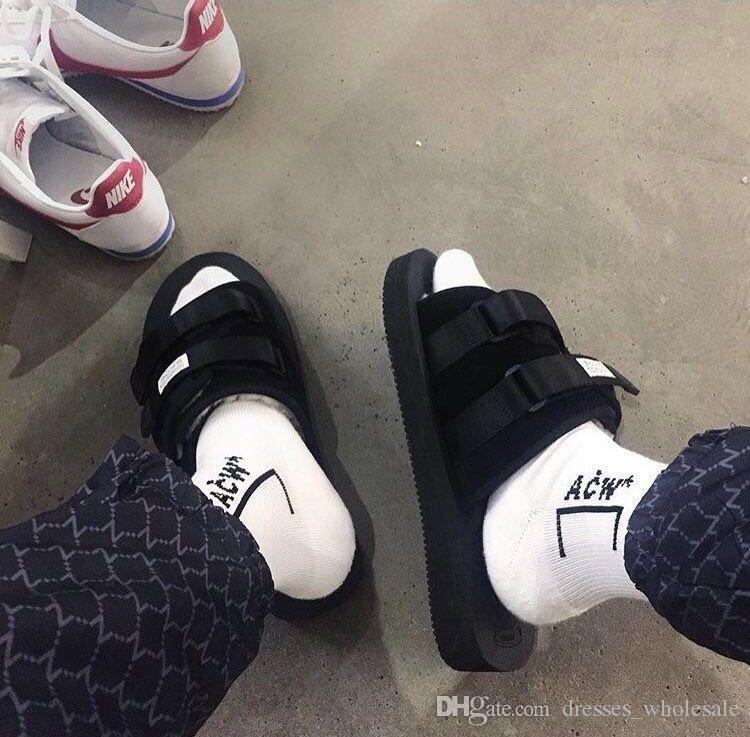 2018 Men Women ACW Long Socks New Cotton Socks Justin Bieber Hip Hop Harajuku Thick Letter Skateboard streetwear funny socks