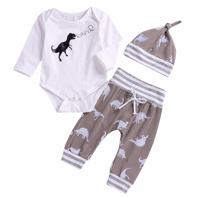 356f9f9cb 2019 Newborn Girls Clothing Set Baby Boys Set Infant Clothes 0 24 ...