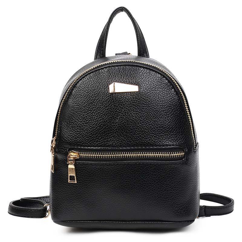 32d2457f7744 New Mini Cute Women Backpack Small Size Soft PU Leather Women s  BackpacFashion School Girls Bags Female Backpack For Teenage Kids Backpacks  Dakine Backpacks ...