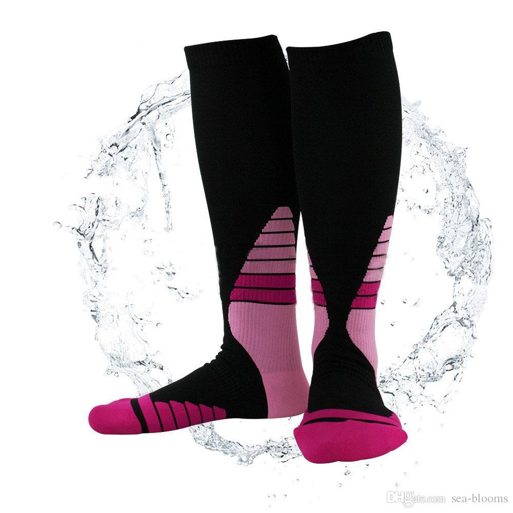 Custom LOGO Compression Socks Sports Copper Fiber Running Fast Dry Marathon Outdoor Badminton Men & Women Support FBA Drop Shipping G478Q