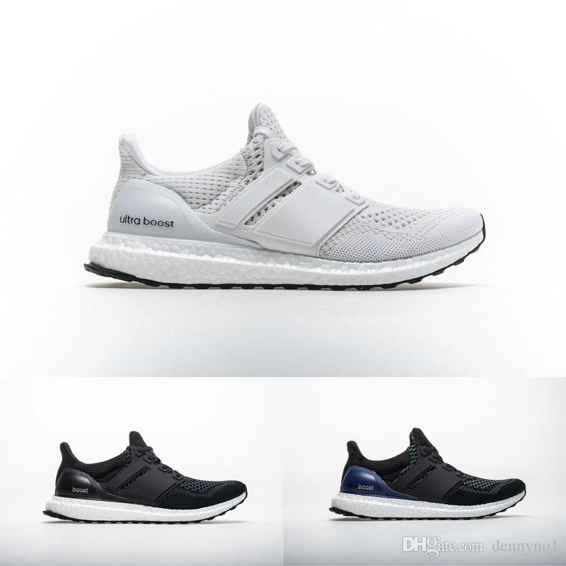 2018 all white ultra boost 1 0 trainings lightweig men sneakers