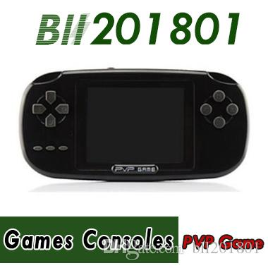 168 Games PVP Childhood Classic Game Player With more than 168 Games 2.5 Inch 8-Bit PVP Portable Handheld Game Console