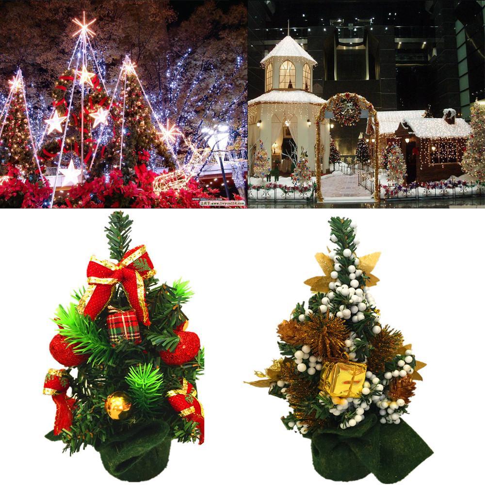 Decorazioni Natalizie 2019.Acquista Capodanno 2019 Mini Decorazione Albero Di Natale