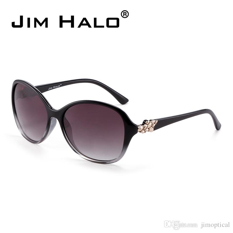 0a0dab07521eb Jim Halo Oversized Gradient Lens UV400 Protection Luxury Big Frame ...