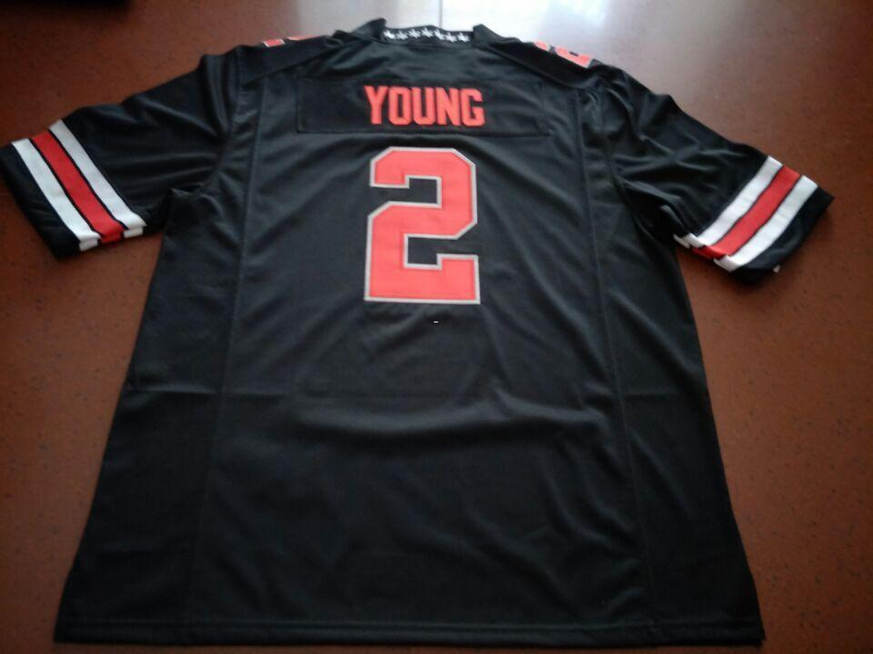 88a2da737 Men Ohio State Buckeyes Chase Young  2 Real Full Embroidery College Jersey  Size S 4XL Or Custom Any Name Or Number Jersey UK 2019 From Ttl123