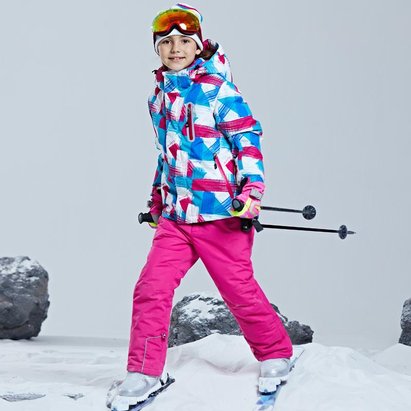817405149b 2019 Girls Ski Suits Kids Ski Suits Jacket And Pants Children Snow Snow Coat  And Trousers Waterproof Snowboard Jacket Pants From Pothos