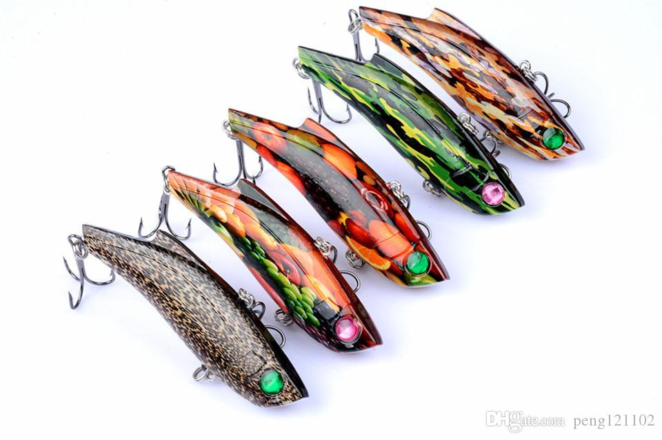Wholesale 2018 New style Japan Artificial Bait VIB Fishing Lure 26.5g 9cm Sinking Jerkbait Crankbait Wobblers Fishing Tackle