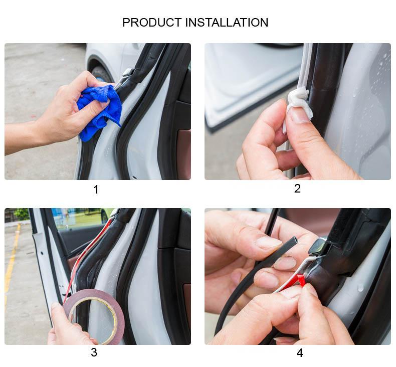 Adesivi porte di protezione Adesivi porte di gomma
