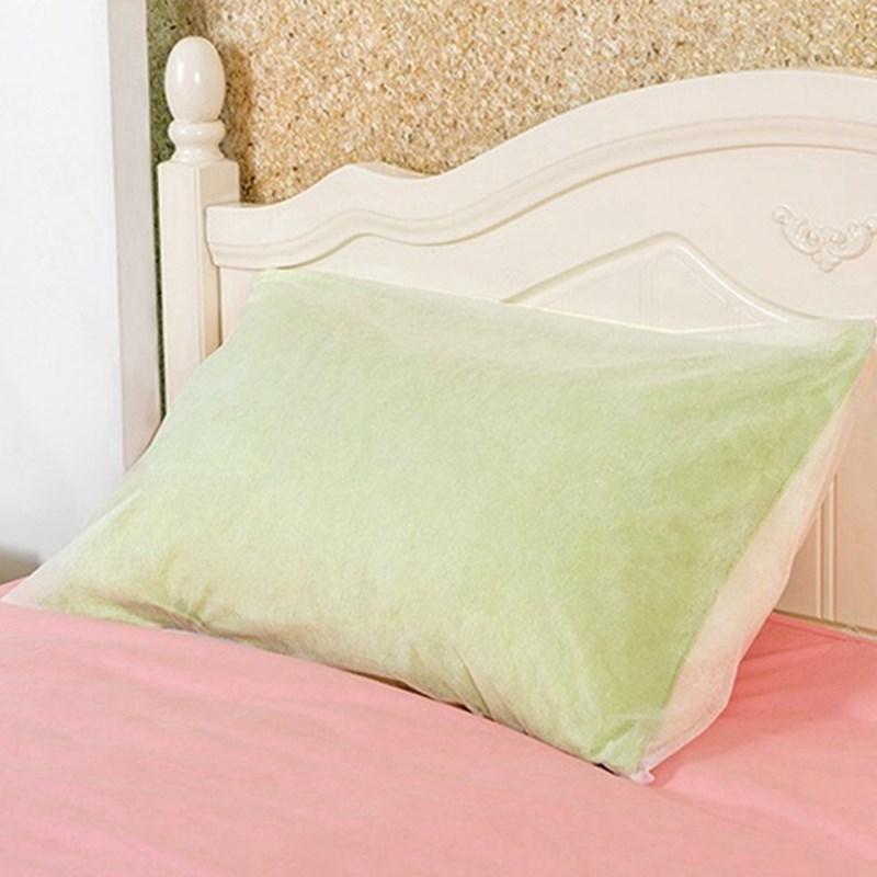 40 Pillowcase Dust Cover Non Woven Fabrics Disposable Cushion Extraordinary Disposable Pillow Covers