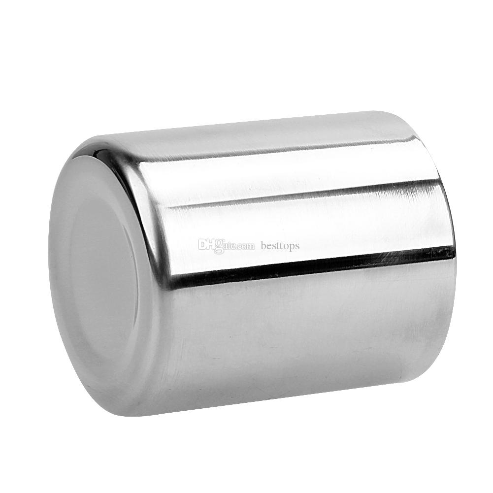 New 220ml 300ml 400ml Stainless Steel Portable Wine glass Double Wall Travel Tumbler Coffee Mug Drinkware Tea Cup