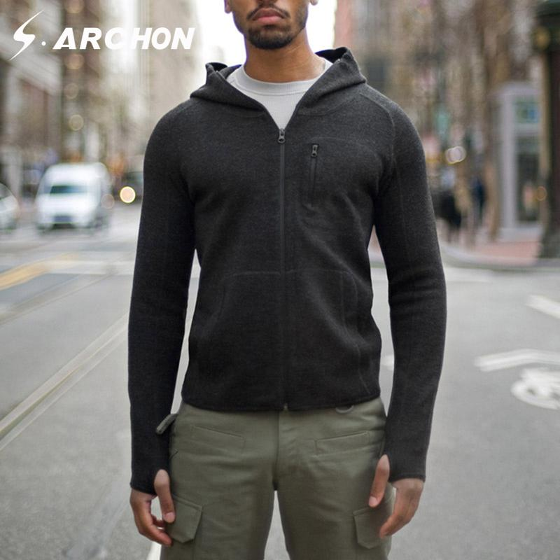 440b4f080a 2019 TAD Wool Sweatshirts 2018 Fall Winter Outdoors Sport Hiking Men Merino  Wool Hoodies Knitted Jackets Man Tactical Hooded Jacket From Yymq0404, ...