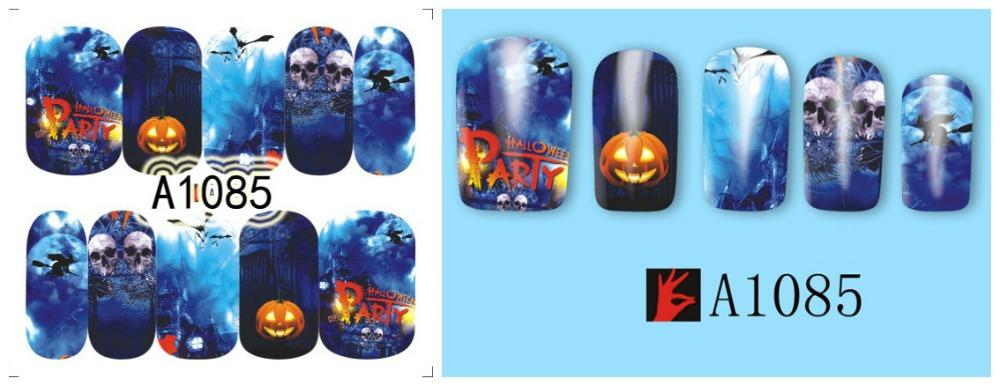 Fire Stencils for Nails Halloween Nail Stickers Nail Art Nail