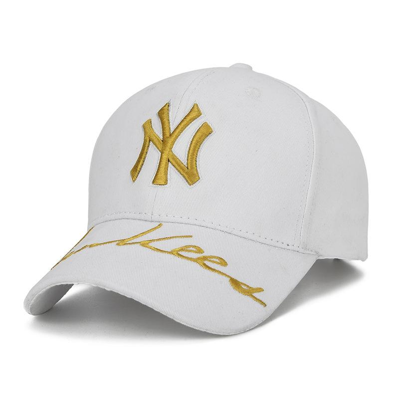 f9bb0351cec Men s Lady Baseball Cap NY Team NY Letter Embroidered Cap Baseball Sports  Flat Brim Hats Baby Cap From Hoganr