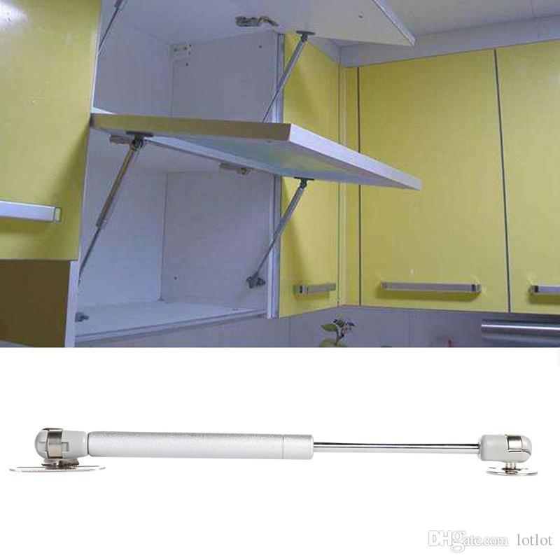 Nouveau 100N / 10KG ascenseur de porte pneumatique de support pneumatique ressort de support hydraulique reste crochets rails pour outil de cuisine