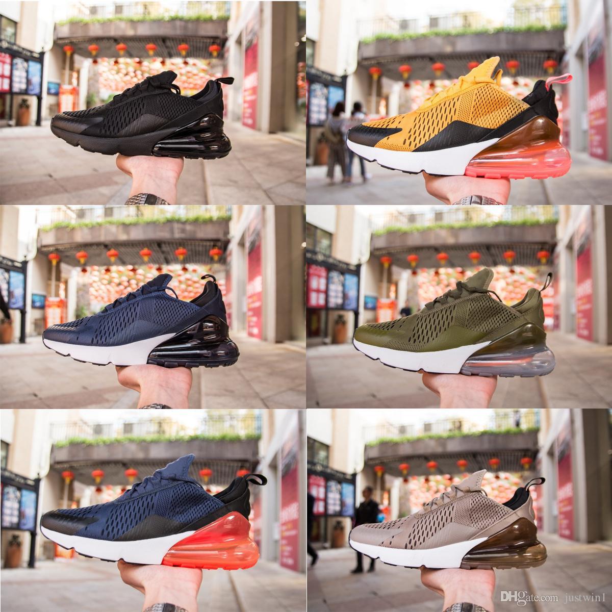 new style 36fb0 60be6 Acquista Nike W Air Max 270 Airmax 270 Air 270 Mens Donna Nuova Moda 270  Scarpe Casual 27c Scarpe Casual Uomo Donna Commercio All ingrosso Flair  Triple Nero ...
