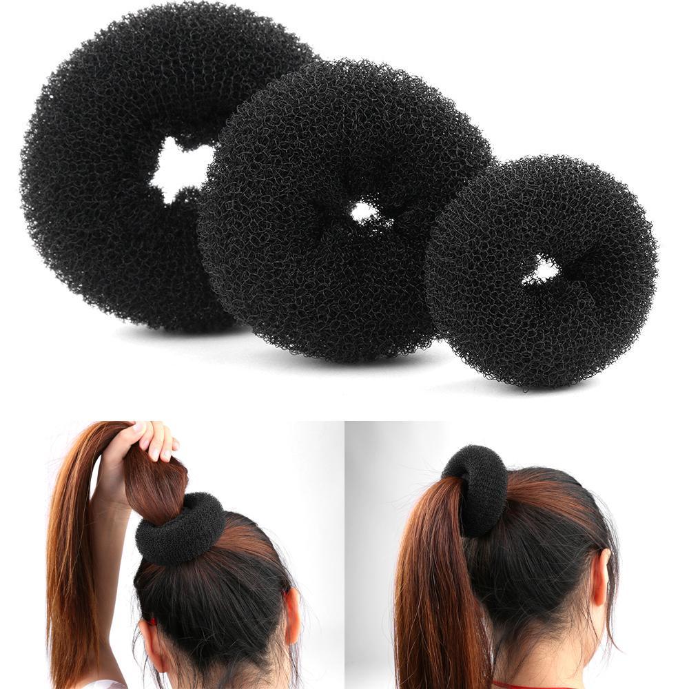 7a2011b02 Compre Moda Mulheres Lady Magia Shaper Donut Hair Ring Bun Acessórios Cabelo  Styling Ferramenta S / M / L Novo De Gorgeous08, $24.43   Pt.Dhgate.Com