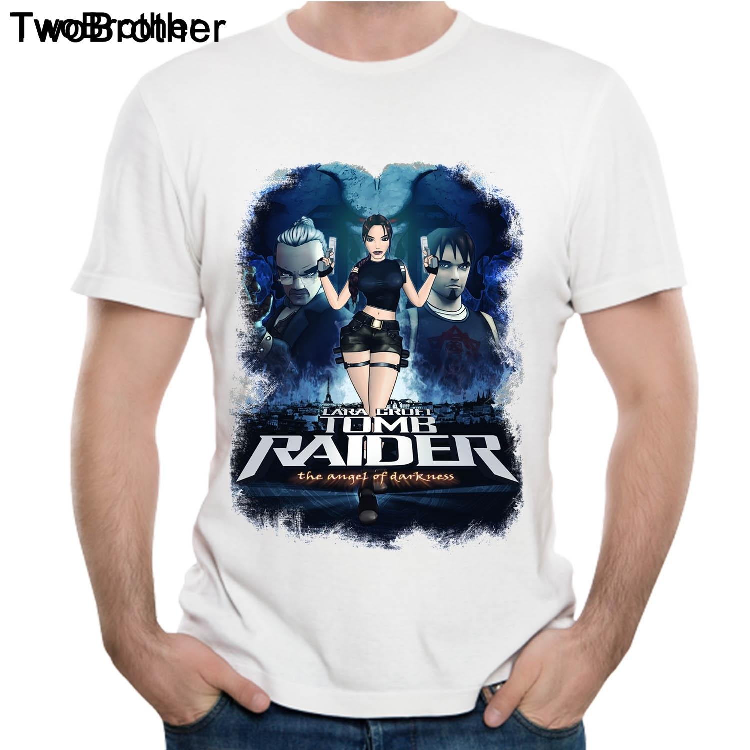 4068ffcb8e47b Tomb Raider Angel Of Darknes Lara Croft Idea Design T Shirt Short Sleeve  Round Neck 100% Cotton Plus Size Tee Shirt Wholesale Discount Party T Shirts  ...