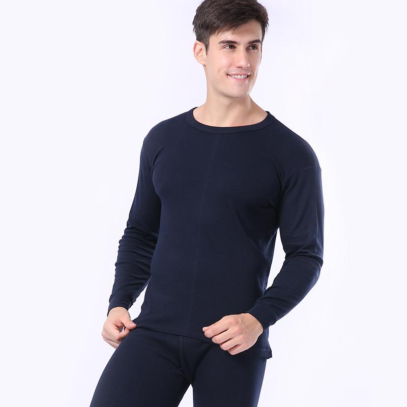 826779290c6 New Autumn Plus Size Men s Thermal Underwear Cotton Thin Winter Warm Suit  For Men Solid O-Neck Thermo Long Johns Set Tmall Long Johns Cheap Long  Johns New ...